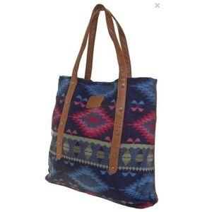 NWT Element Southwestern Print Tote Bag